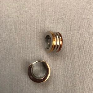 Jewelry - Stainless Steel Earrings 3 colors NWT